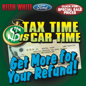 tax time is car time at keith white ford in mccomb keith white ford lincoln mccomb ms car. Black Bedroom Furniture Sets. Home Design Ideas